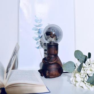 керамічний світильник(лофт). подарунок шефу