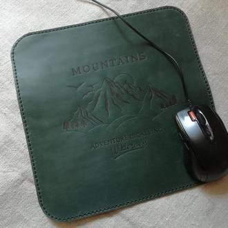 Коврик для мыши, компьютерный коврик, коврик для мышки из кожи, кожаный коврик для мыши