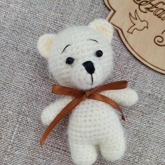 Мишка мягкая игрушка, медвежонок крючком, Мягкие игрушки, вязаные игрушки