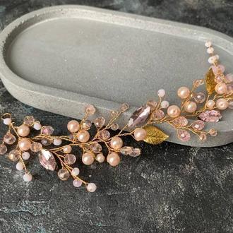 свадебные веночки украшения в прическу украшения для свадебной прически венки для невесты