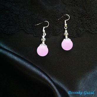 Cеребряные сережки стильное украшение серьги серебро бирюза лава коралл dzvinka guzul тренд подарок