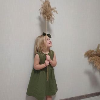 Детское платье из муслина.