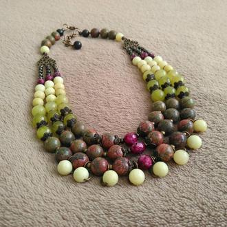 Ожерелье «Степные травы»
