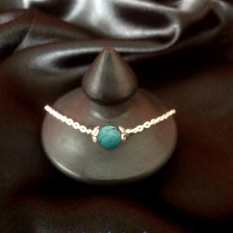 Браслет серебряный кулон серебро ожерелье бирюза корал лава аметист dzvinka guzul тренд подарок люкс