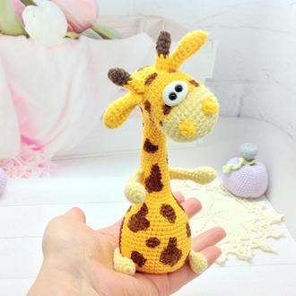 Небольшой жираф крючком , 19 см