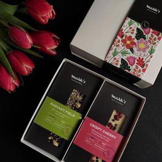 Подарочный набор премиум шоколада Mark's