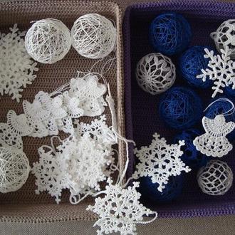Новогодние украшения для вашего дома