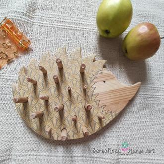 Дерев'яний сортер Їжачок