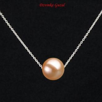 Срібний браслет кольє модна прикраса кулон срібло перли Пандора подарунок dzvinka guzul тренд люкс