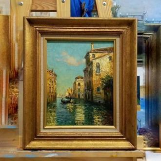 Картина маслом Венеция.