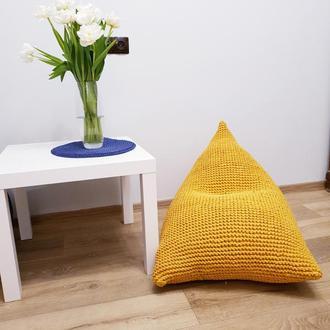 вязанное кресло мешок, для детей