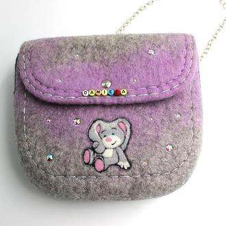 Детская войлочная сумка DANI