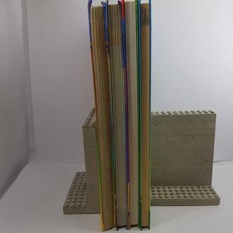 Держатели для книг, Упоры для книг ручной работы из бетона, Лофт