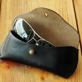 Чехол для очков из кожи Horween Chromexcel