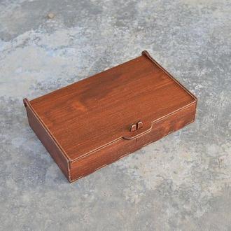 Шкатулка, органайзер для денег 18x11