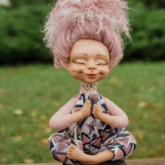 Намасте - авторская кукла