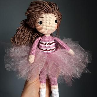 Кукла балерина  / амигуруми
