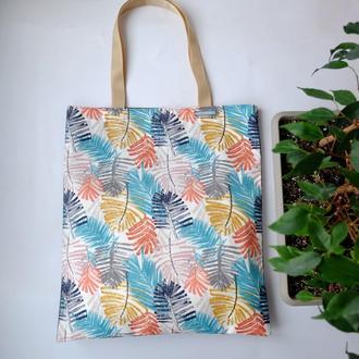 """Эко сумка """"Акварель"""", тканевая сумка пакет, эко торба, шоппер"""