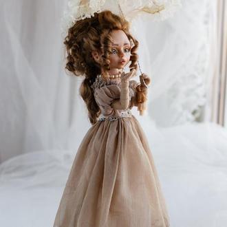 Авторская кукла - Воздушный поцелуй из 19 века