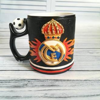 """Чашка хамелеон ФК """"Реал Мадрид"""""""
