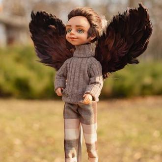 Коллекционная кукла- Парень Софии, изготовлен на заказ в пару к кукле Совушке Софии