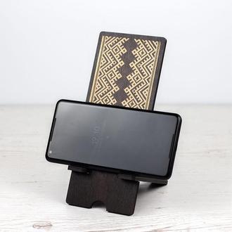 """Подставка для телефона или планшета """"Вышиванка"""""""
