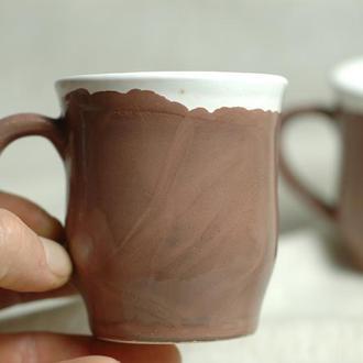 Чашка кофейная Чашка керамічна Чашка глиняная Гончарная чашка Чашка Чашка для кофе Чайная чашка