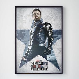 Постер Сокол и Зимний Солдат (The Falcon and The Winter Soldier)