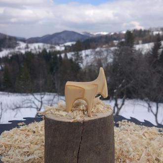 Деревянная игрушка  Коза