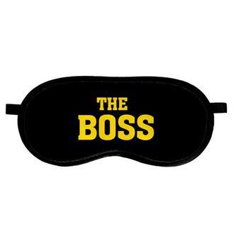 """Маска для сна (на глаза) с принтом """"The Boss"""""""