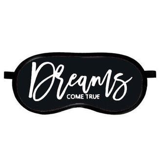 """Маска для сна (на глаза) с принтом """"Dreams come true"""""""