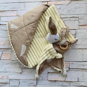 Подарочный комплект для новорожденного - конверт на выписку