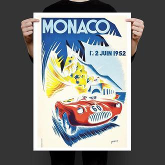 Постер Монако ралі 1952