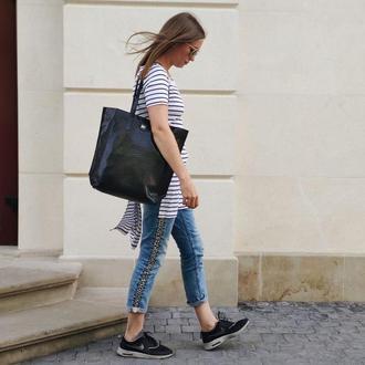 Сумка шопер. Большая женская сумка.