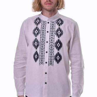 Чоловіча вишита сорочка «Звага» біла