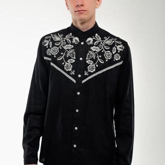 Чоловіча вишита сорочка Знахідка чорна