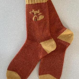 Носки с шерстью альпаки