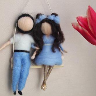 Игрушки свадебная пара Куклы