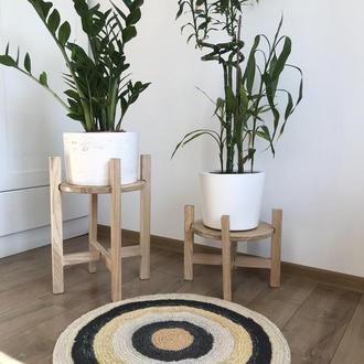 Подставка деревянная для цветов, вазонов