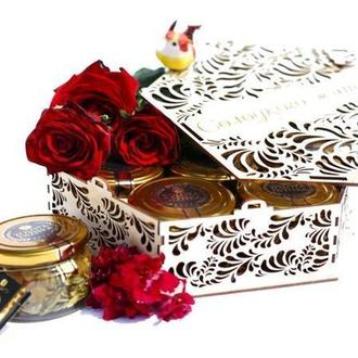 Подарунковий набір з медом DOLCE VITA