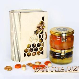 Подарунковий набір з медом ZOLOTA SOTA BOOK #1