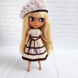 Платье на Блайз, набор одежды для куклы Блайз, подарок девочке