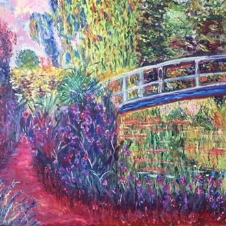 """Картина копия Claude Monet «Japanese Bridge"""""""