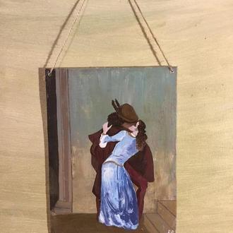 Картина копия Франческо Айец «Поцелуй»