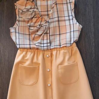 Юбка с блузой для девочки