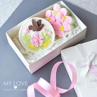 Подарочный набор мыла  Весенний голубь