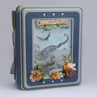 Великий фотоальбом з динозаврами для дитячих фотографій