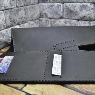 Стильная кожаная обложка для блокнота B02-450