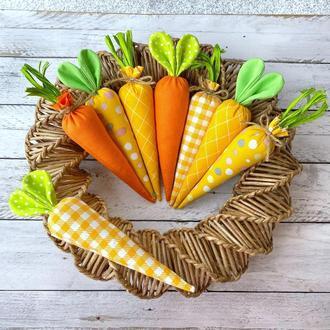 Набор пасхальные морковки, пасхальный декор