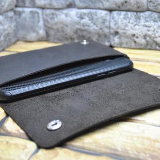 Кожаный чехол для смартфона H18-450